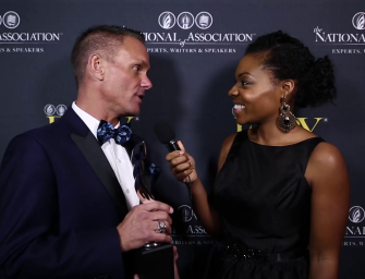 Kristen L. Pope Interviews Shark Tank's Kevin Harrington at the EXPY Awards