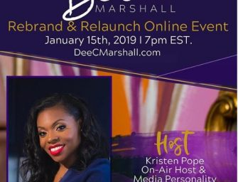 Host of Dee C Marshall Rebrand and & Relaunch Online Event