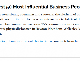 50 Most Influential Business People of Color (Newton-Needham Metrowest)